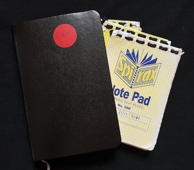 2019 A6 Notebook Journal Diary