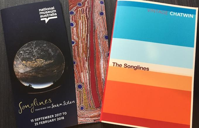 Songlines: The NMA Exhibition & Classic Bruce Chatwin Book