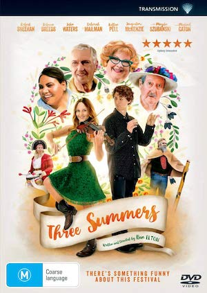 Three Summers by Ben Elton (Transmission)