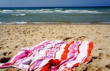 Escape to beach towel