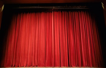 The Performance - Stage Curtain
